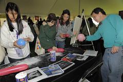 NASA Tent at MD Day 17
