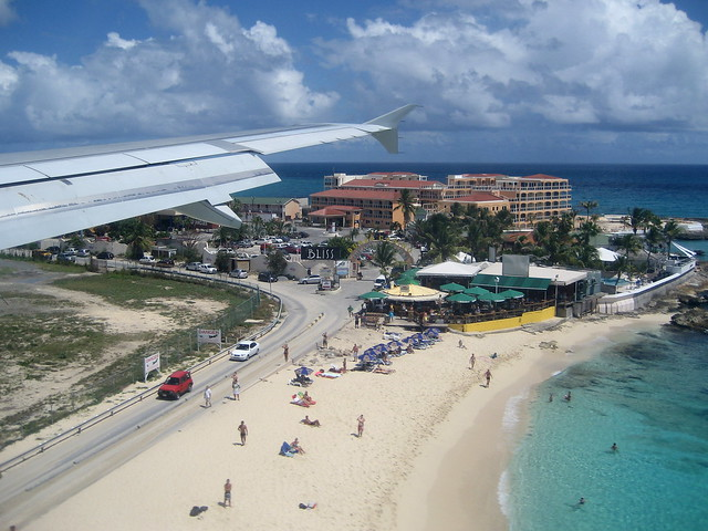 Arrival at Princess Juliana International Airport (SXM) - St. Maarten - May 8, 2010 020 RT CRP