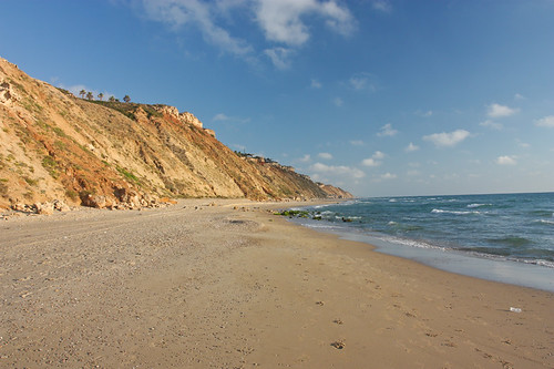 Cliffs and the sea shore - Netanya, Israel
