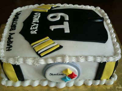 pittsburgh steeler birthday cakes