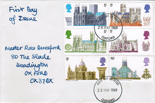 28-May-1969 UK First Day Cover