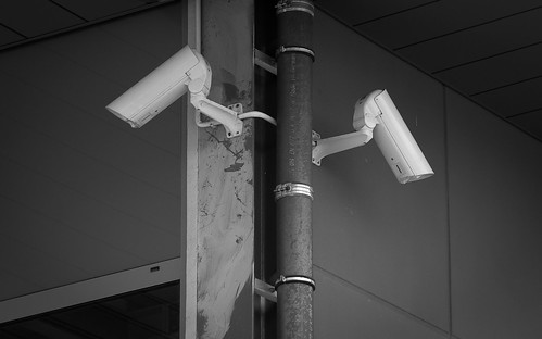 cctv all over (b&w)