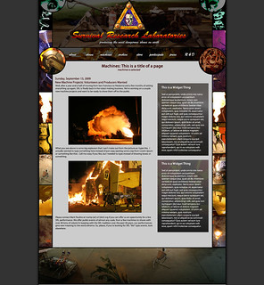 SRL Website Mockup