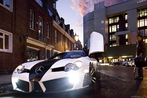 McLaren Mercedes SLR Mansory Renovatio Roadster