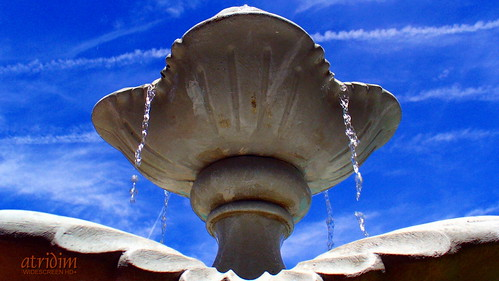 arizona fountain photo flickr desert gilbert desertsky captainrick watertrails 169widescreen 16x9widescreen virtualjourney atridim virtualjourneygallery virtualjourney2