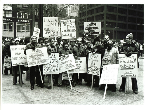 The Picket Line 1980 Chicago Firefighters Strike