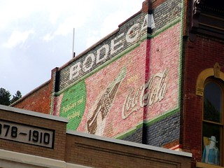 Coke ghost sign.