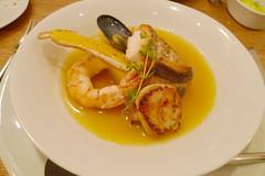 meal, breakfast, seafood, bouillabaisse, food, scampi, dish, cuisine,