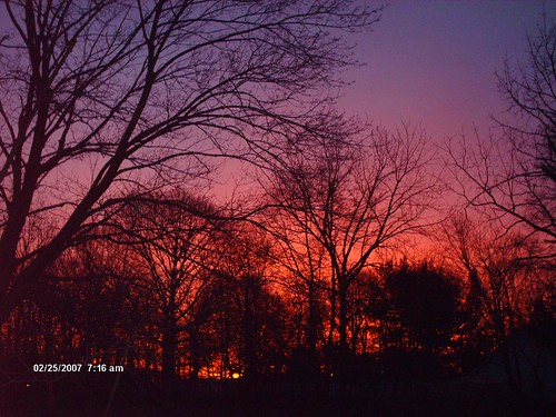 winter sunrise purple sunrises gibbsboro gibbsboronj