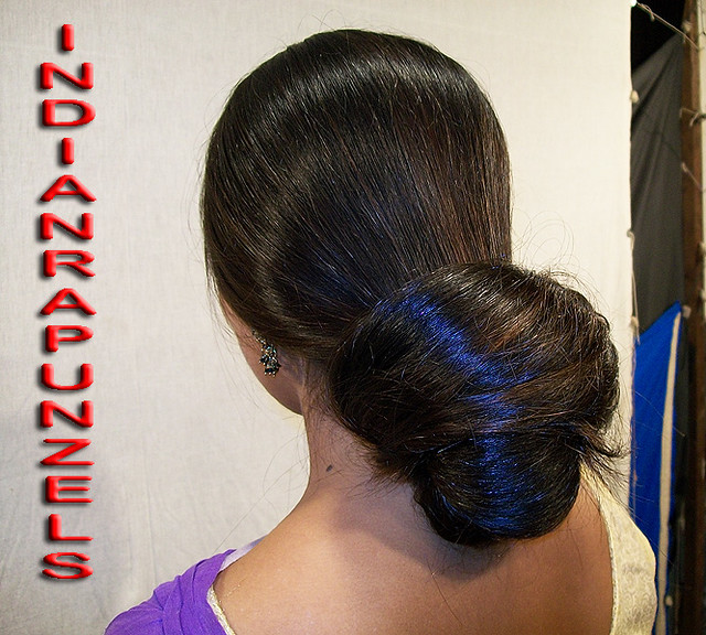 Indian Exotic Longhair Buns