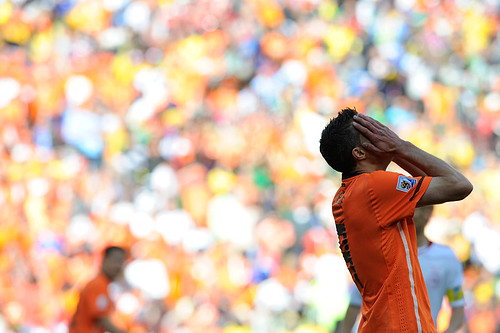 World Cup 2010 South Africa: Netherlands v Denmark