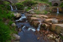 Three Shires Head Waterfall.