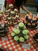 A delicious selection of cupcakes were on sale at the Shipley Art Gallery