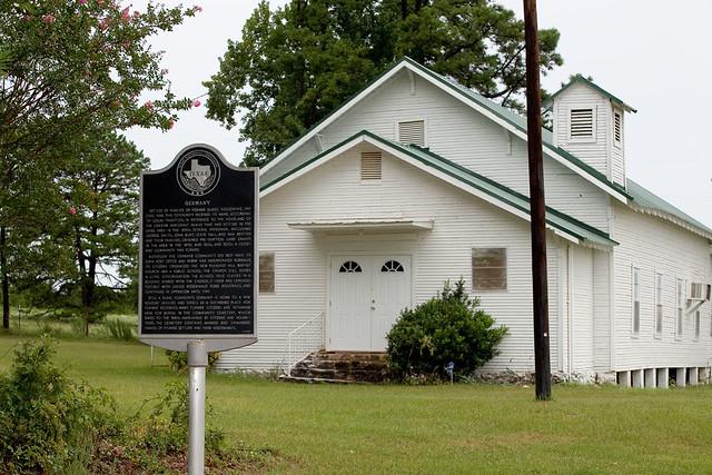 New Pleasant Hill Baptist Church Germany Community Crockett Texas Forest Trail Region