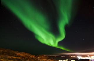 Aurora in Iqaluit