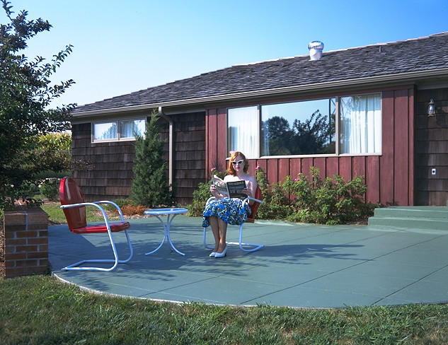 1950 39 S All Electric House Patio Flickr Photo Sharing