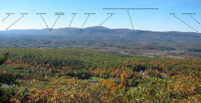 Appalachian Trail, southern Massachusetts