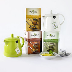 Teabag Teapot Collection Set