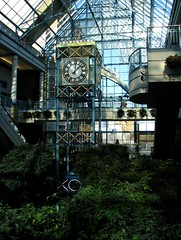 Portage Place Clock