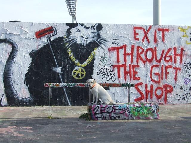 banksy in berlin urban street art urban art association. Black Bedroom Furniture Sets. Home Design Ideas