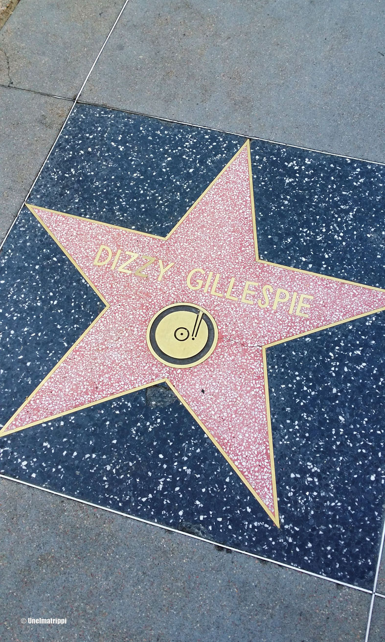 Dizzy Gillespien tähti, Los Angeles, Kalifornia, USA