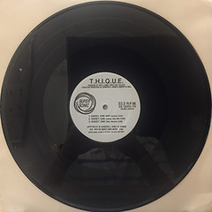T.H.I.Q.U.E.:SWEET ONE(RECORD SIDE-A)