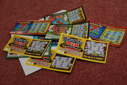 christmas lottery tickets