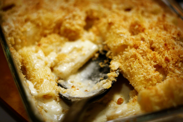 Truffled Macaroni and Cheese.   Flickr - Photo Sharing!