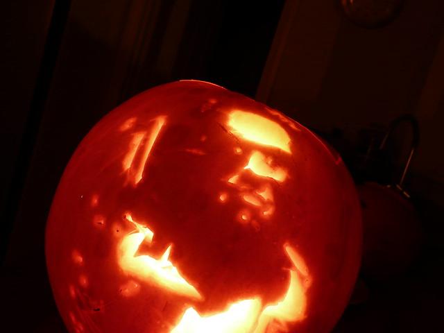 Terminator Pumpkin 1