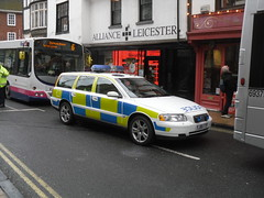 North Yorkshire Police - Central Roads Policing Group - Volvo V70 (YJ55 TTF) - Attending A Minor RTC in York City Centre