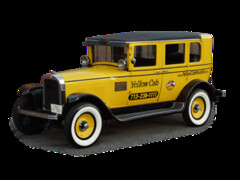 1927 Antique Yellow Cab Co. Taxi Houston