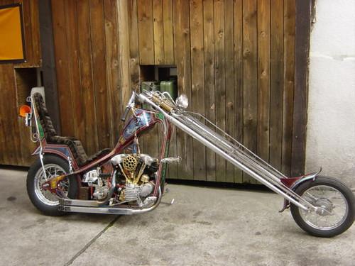 Harley Davidson Knucklehead Chopper 1947
