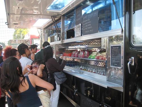 comida de rua nos EUA