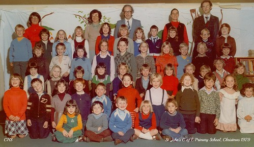 The Last St.John's School Picture 1979/80 by www.stockerimages.blogspot.co.uk