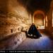 Iran - Mysterious Woman in 12th Century Rubat Sharaf Caravanserai Near Mashhad by © Lucie Debelkova / www.luciedebelkova.com