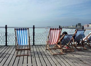 Brighton Seaside in Winter