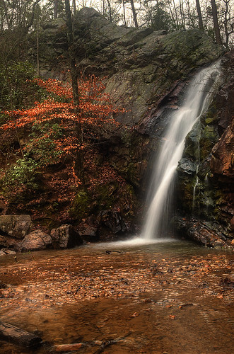 favorite nature water landscape waterfall birmingham woods nikon rocks forrest alabama d70s 24mm hdr favorited oakmountainstatepark flowingwater photomatix peavinefalls hdrwork