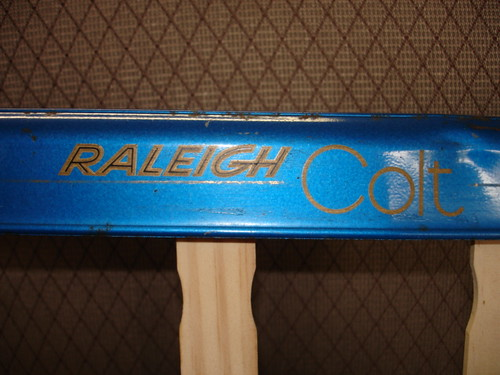 1974 Raleigh Colt chainguard decals (2)