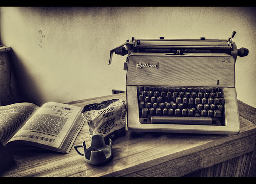 [ Optima typewriter ] by shexbeer