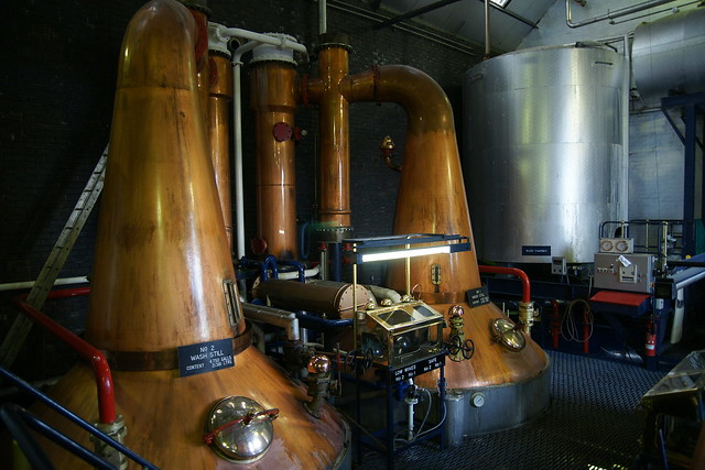 Wash Stills @ Tullibardine