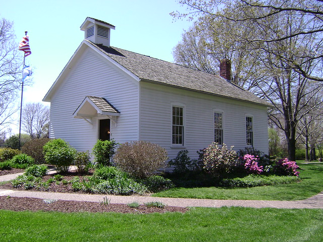 Shelter gardens schoolhouse