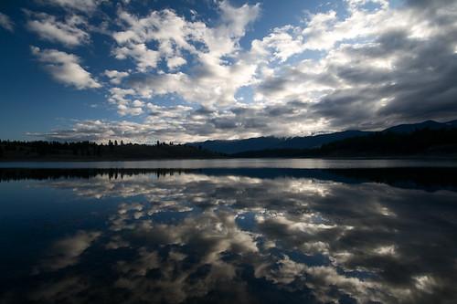 morning light sky usa lake mountains water clouds sunrise landscape dawn spring montana sophie dramatic rocky april eureka