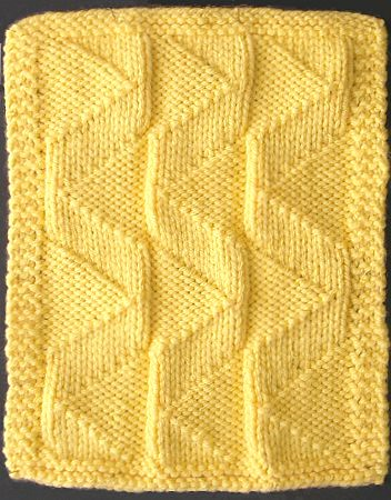 Double Knitting Stitches Per Inch : 01. Knit-Purl Combinations (2nd) The Walker Treasury Project Page 2