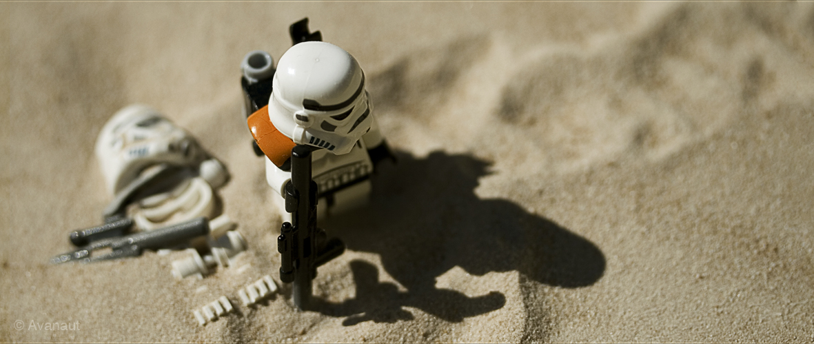 Lego on Tatooine