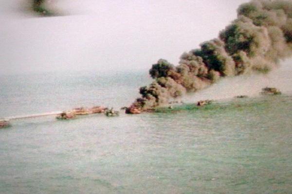 Arabian gulf oil spill