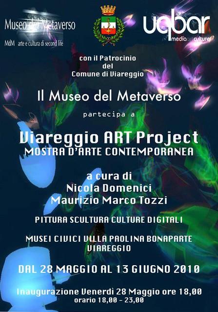 Viareggio ART Project - 28 Maggio al 13 Giugno 2010 il Museo del Metaverso
