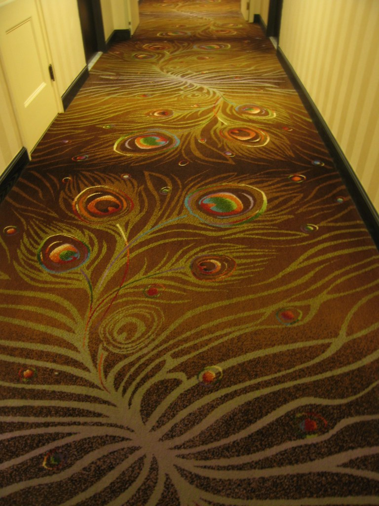 Palmer House hallway carpet