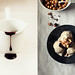 One Ingredient Banana Ice Cream with Hot Fudge Sauce and Toasted Hazelnuts