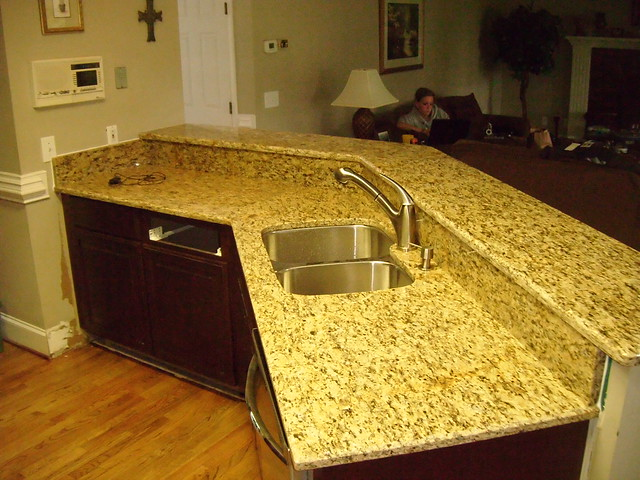 how to create granite countertops