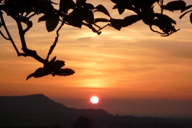 The sun setting on, Panasonic DMC-FX550